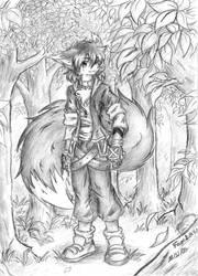 Foxlau  new visual by Dark-Slain