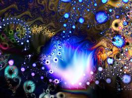 UnderWater Flame by Vamoura