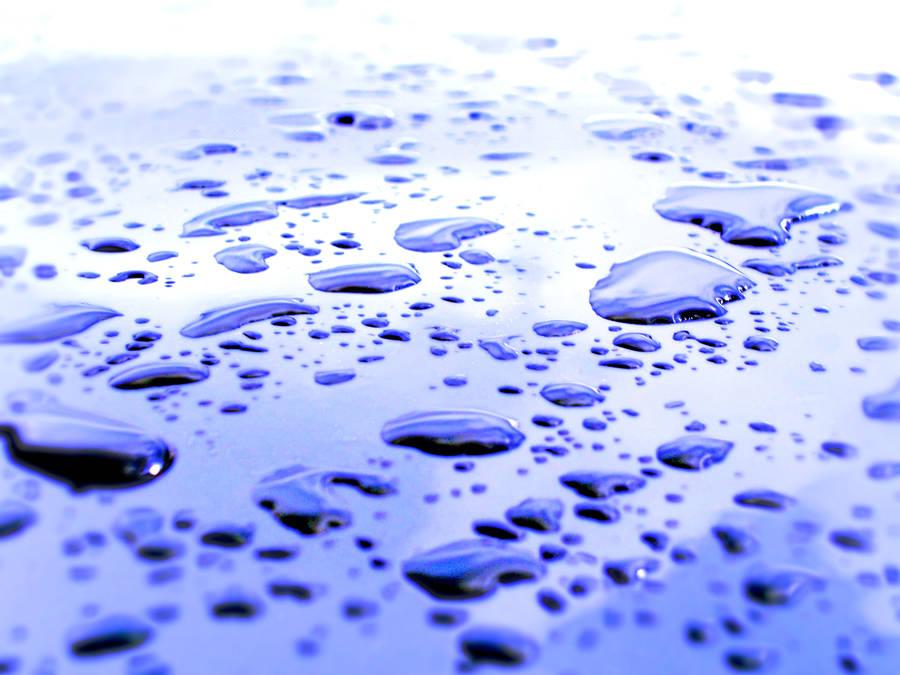 Water rain drops by akenator