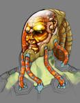 Sci-Fi head concept