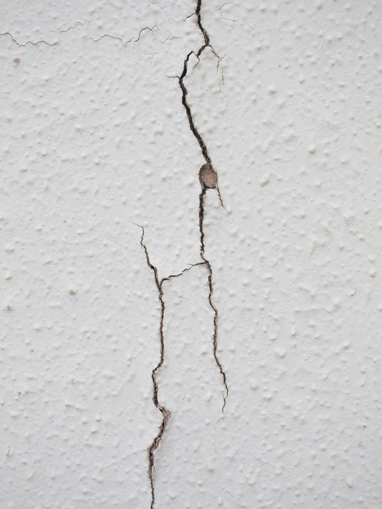 Crack on white wall 02 by akenator on deviantart - How to hide cracks in walls ...