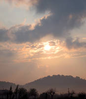 Foggy dawn by akenator