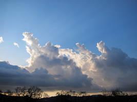 Light through clouds 02 by akenator