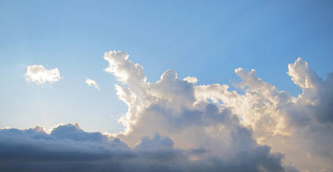 Light through clouds 01 by akenator