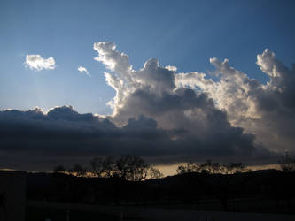 Dusk Cloud Mountains 07 by akenator