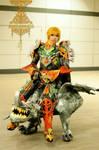Human Phoenix knight with strider