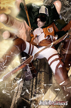 Attack on Titan Cosplay/ Grabbing Crashing