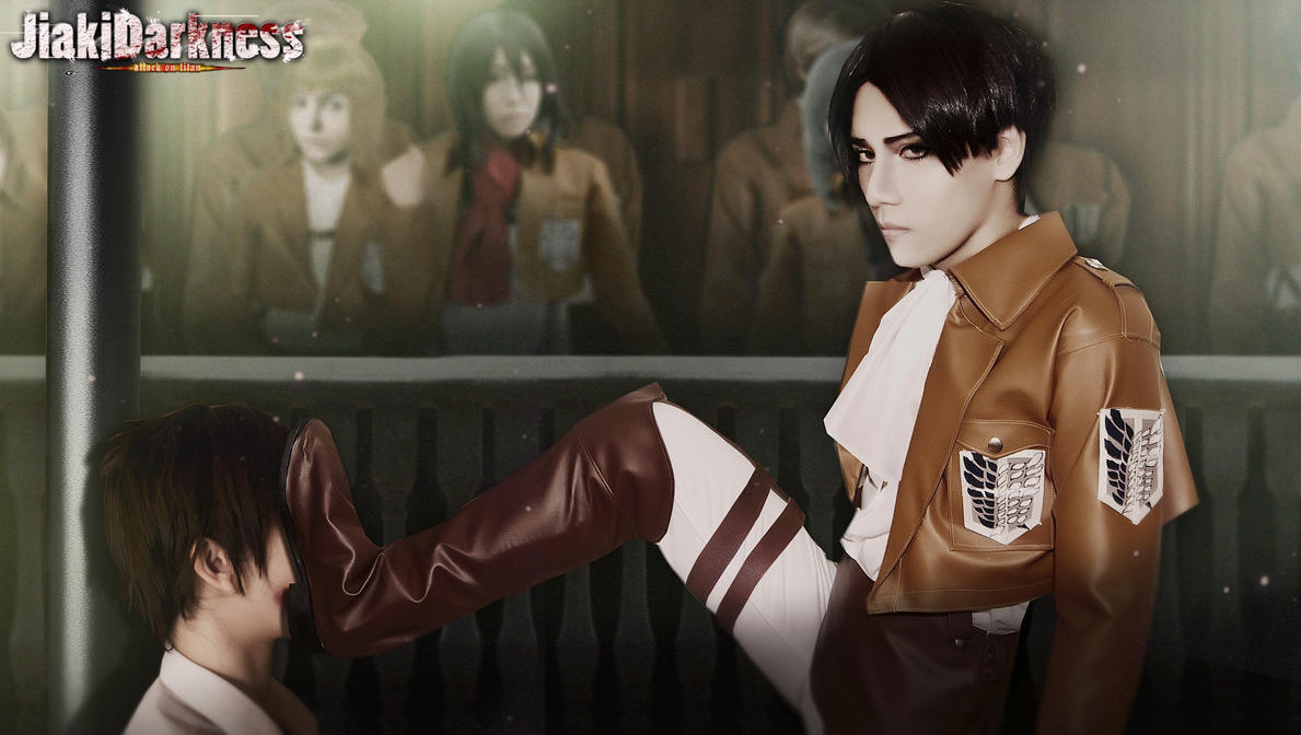Revile attack Shingeki no Kyojin  cosplay by Jiakidarkness