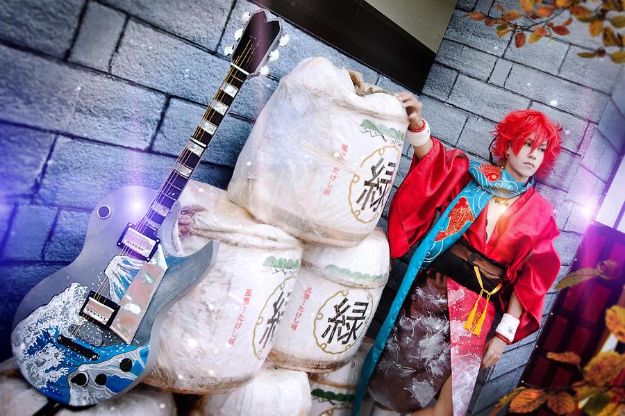 Ryoma Sakamoto/  Bakumatsu-rock  cosplay by Jiakidarkness
