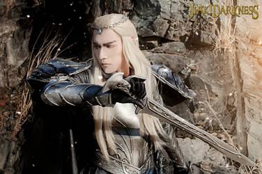 Thranduil The hobbit 3 cosplay II by Jiakidarkness