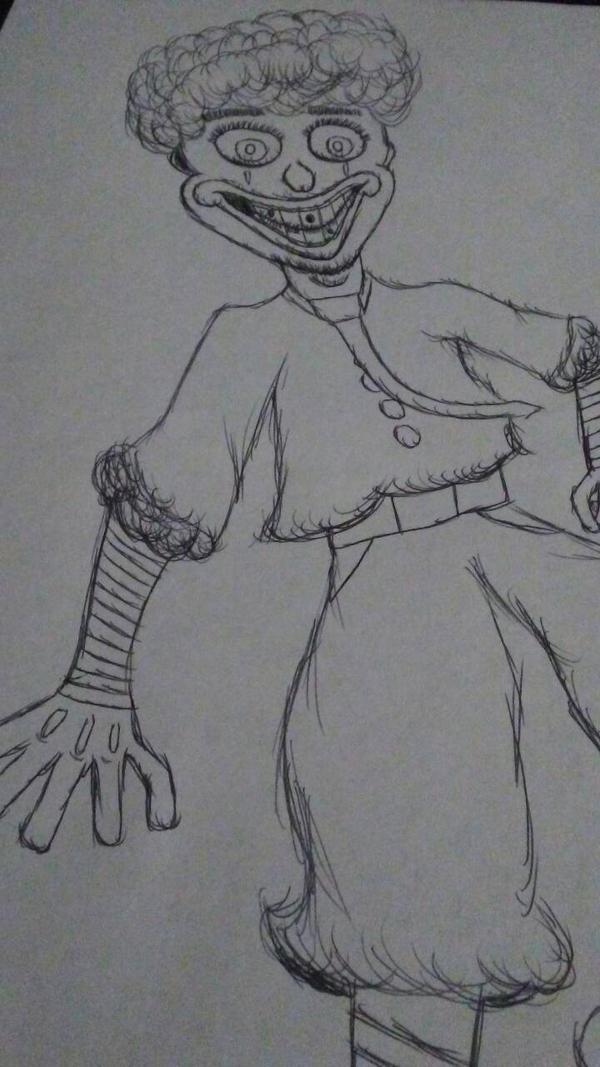 Heres a clown by codafitz