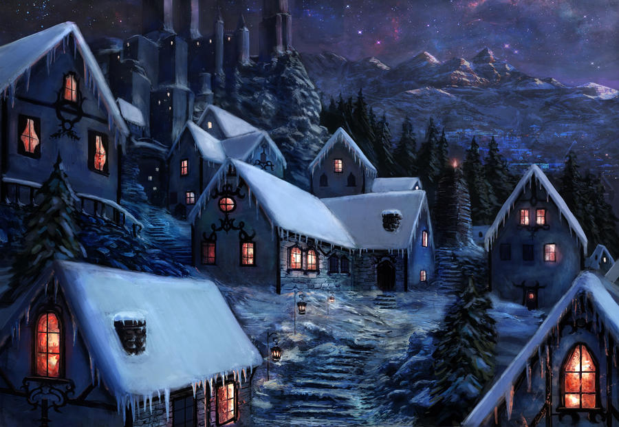 winter village by MBato