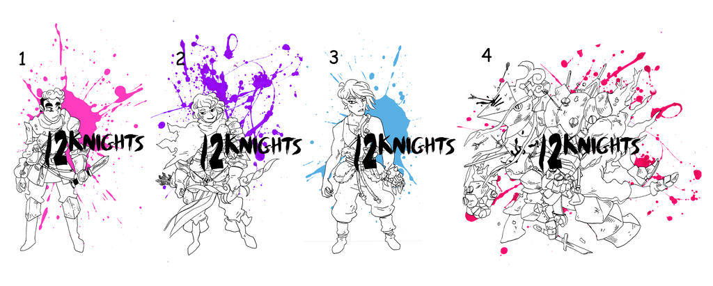 12knights 01 FREE ADOPTS by Mr-King55