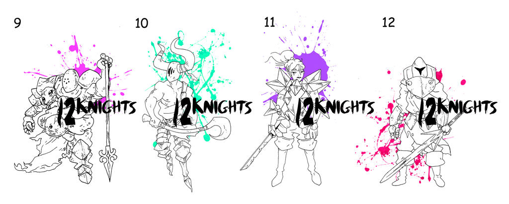 12knights 03 FREE ADOPTS by Mr-King55