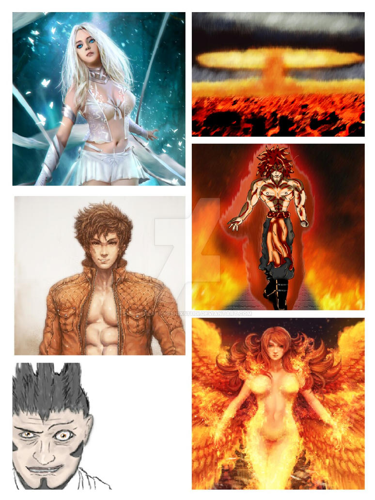 Collage by EtherealPhoenixStudi