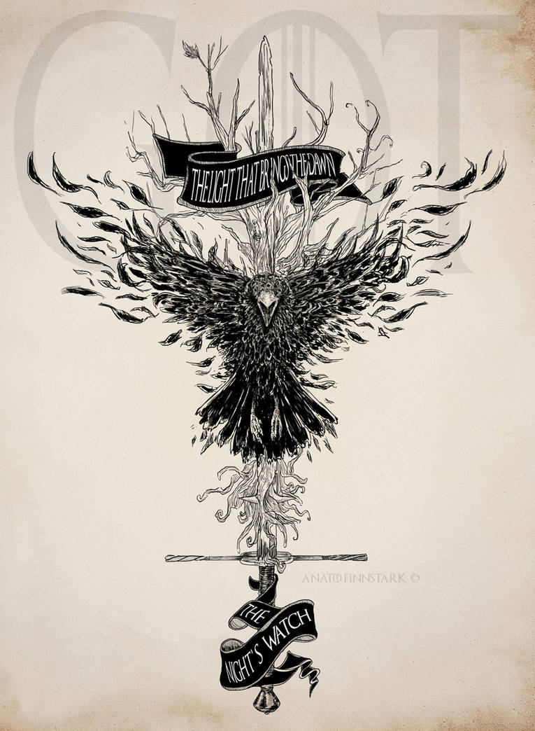 I am the sword in the darkness  (#20inktober) by AnatoFinnstark