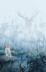 Mononoke and the deer god