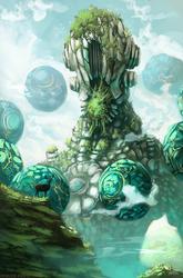 Zenyatta the last deity ( overwatch )