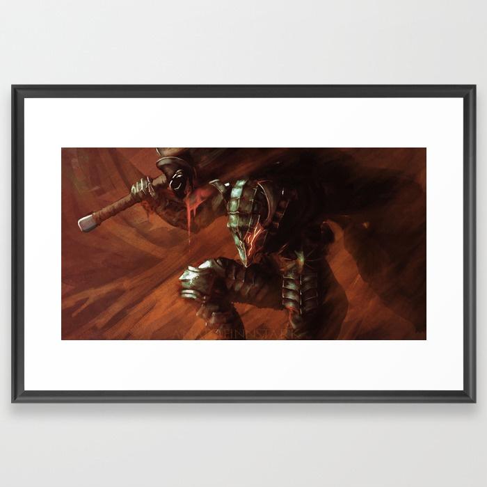 Last-blood-berserk-framed-prints by AnatoFinnstark