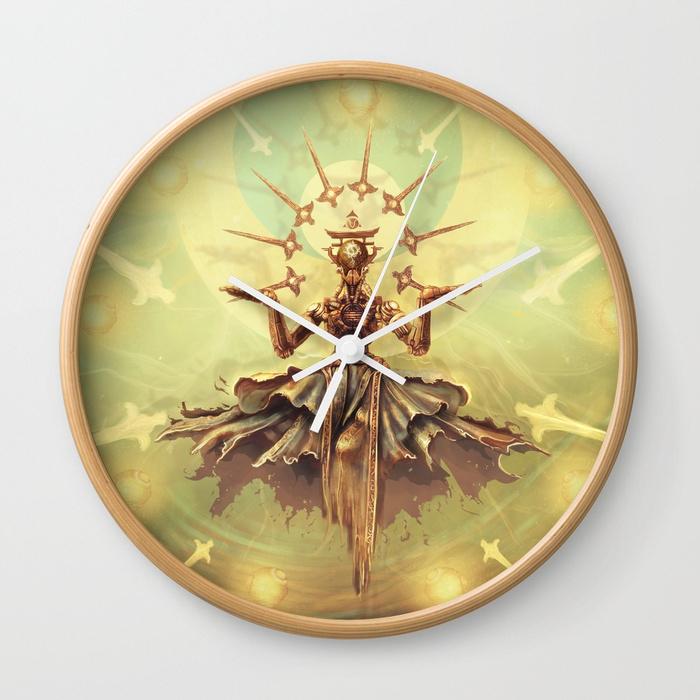 Zenyatta339573-wall-clocks by AnatoFinnstark