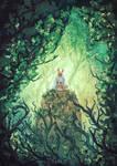 The Last Wolf ( mononoke-ghibli) by AnatoFinnstark