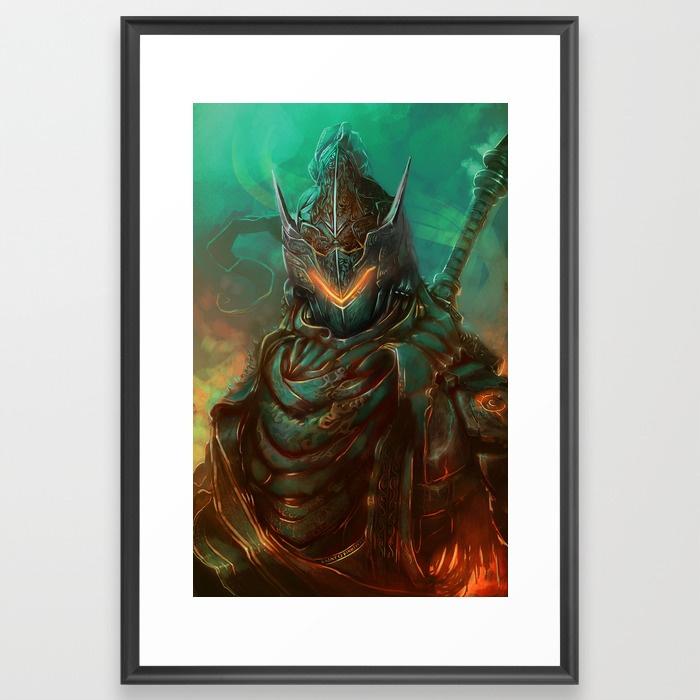 Genjdark-framed-prints by AnatoFinnstark