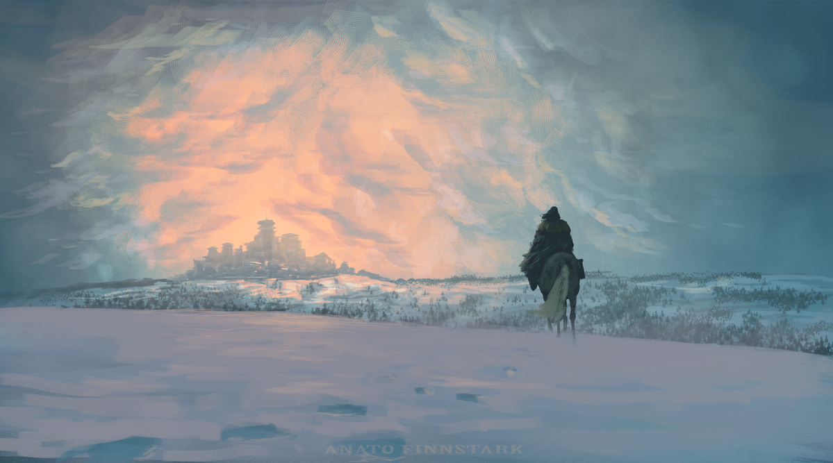 I saw you at the crossroads. (game of thrones) by AnatoFinnstark