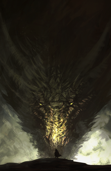 Tyrion and Rhaegal ( GAME OF THRONES)