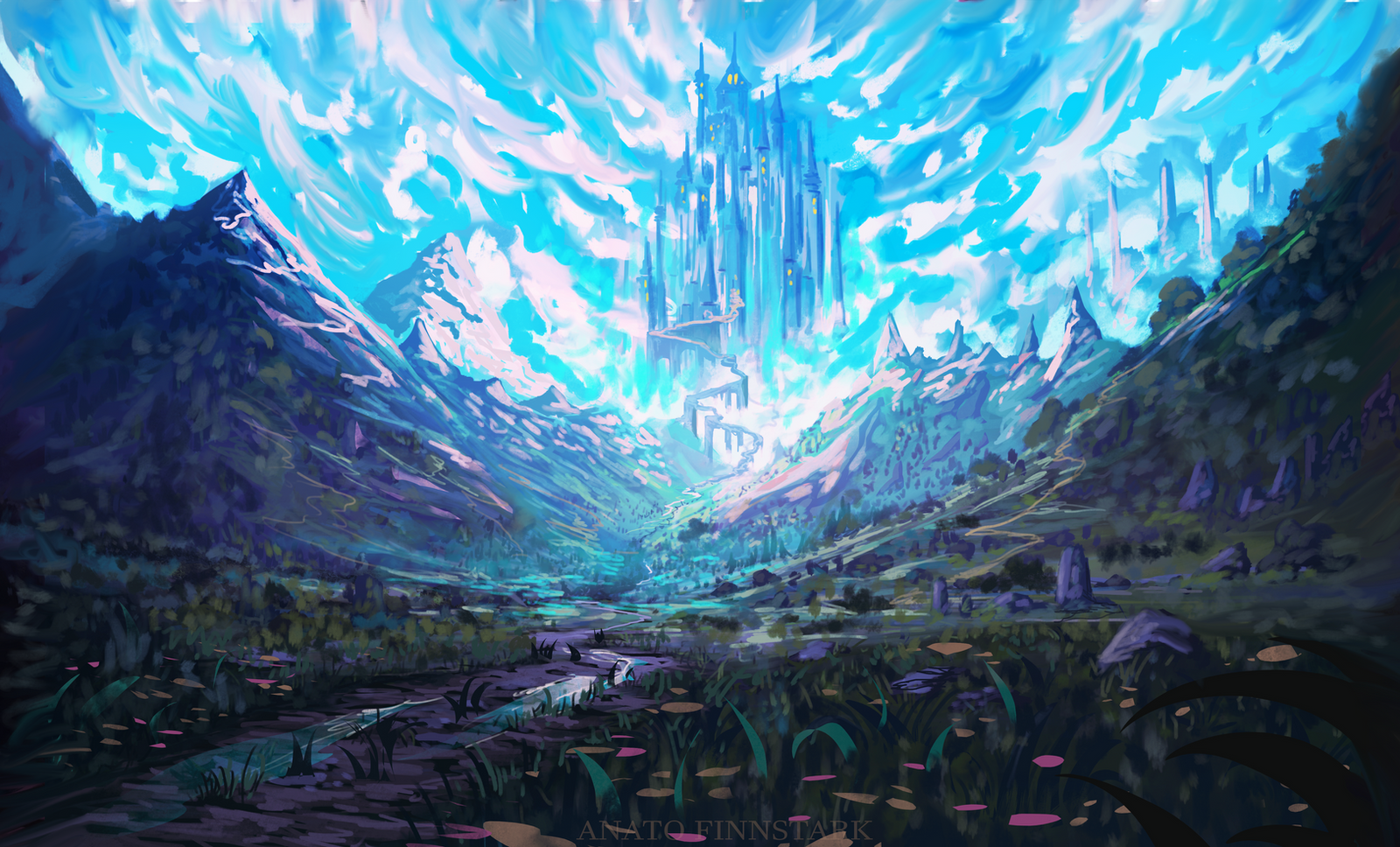 The high castle by AnatoFinnstark