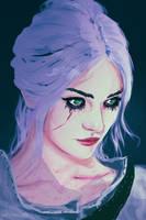 Ciri ( the witcher 3 ) by AnatoFinnstark