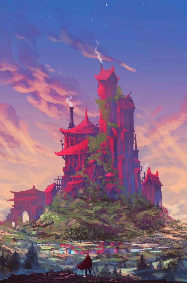 The red Kingdom ( speedpaint 1h45 ) by AnatoFinnstark