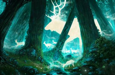 The path of the gods by AnatoFinnstark