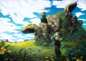 Duel under the lion's head by AnatoFinnstark