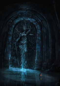 Big door, big problems ...(Dark souls inspiration)