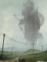 The Weird moving castle by AnatoFinnstark
