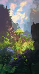 The valley by AnatoFinnstark