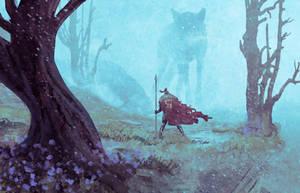 The wolf's gate by AnatoFinnstark