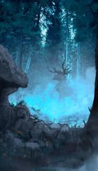 The deer's gate by AnatoFinnstark