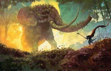 The Elephant's Gate by AnatoFinnstark