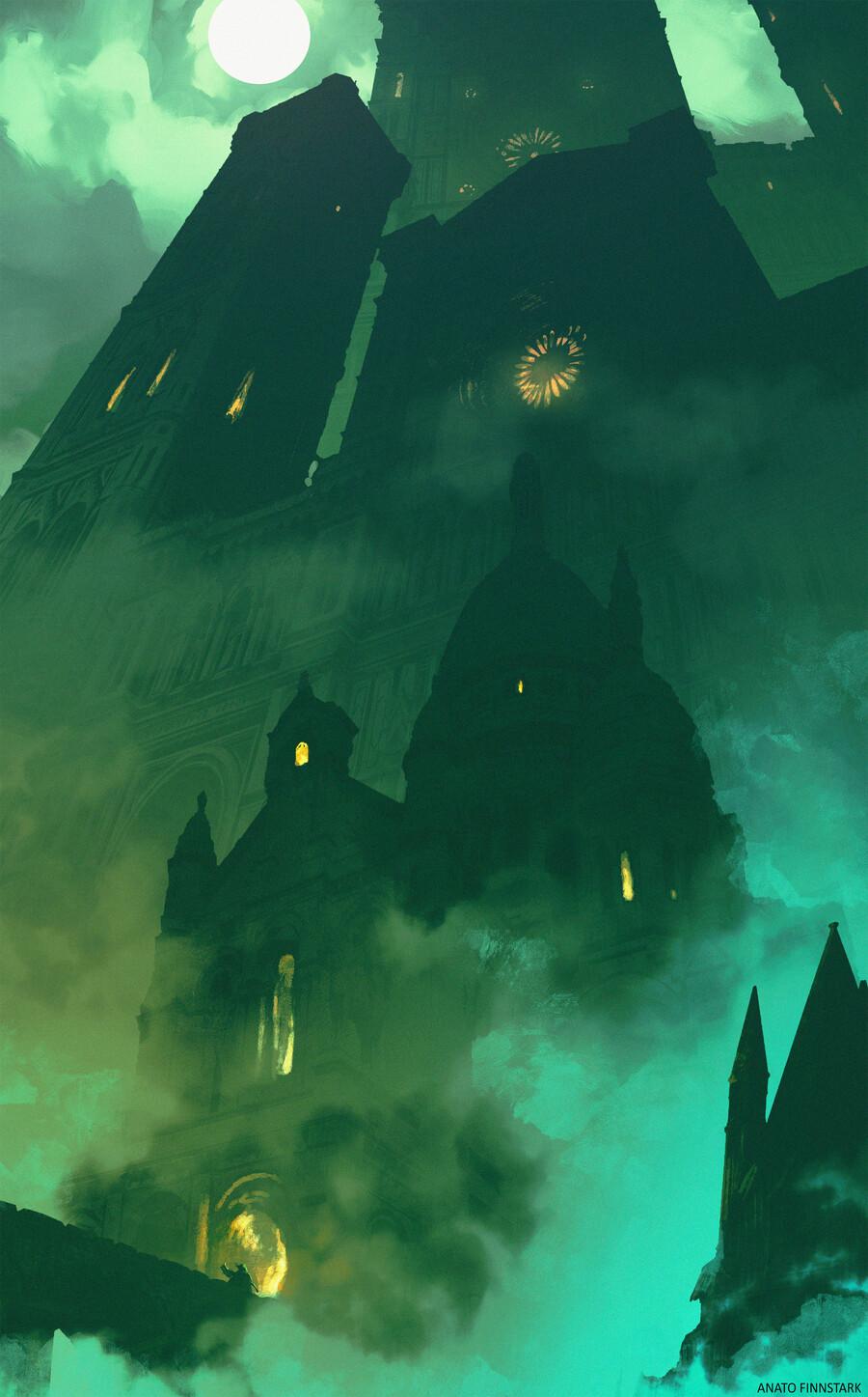 The Belly Of The Beast Bloodborne By Anatofinnstark On Deviantart
