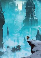 The broken city ( Dark souls ) by AnatoFinnstark