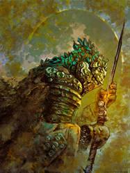 The knight of nothing ( dark souls inspiration ) by AnatoFinnstark
