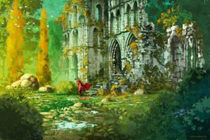 The king's journey : Nothing here, yet ... by AnatoFinnstark