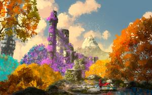 The king's journey :  High garden by AnatoFinnstark