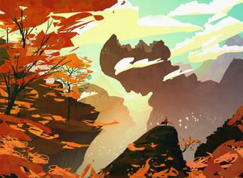 The king's journey : The elder's valley