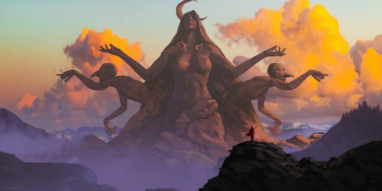 The king's journey : The moon's cult by AnatoFinnstark