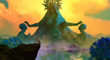 The king's journey : The Sun's cult by AnatoFinnstark