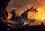Jeanne d'arc, first horseman of the apocalypse
