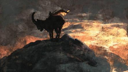 Dark Rider by AnatoFinnstark