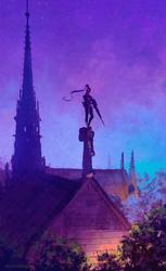 Before the red moon ( widowmaker / Overwatch ) by AnatoFinnstark